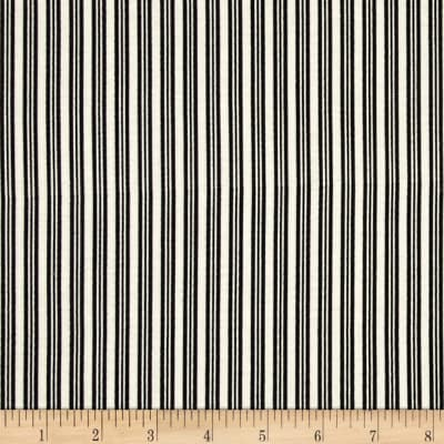 Riley Blake Lost & Found Halloween Stripes Black