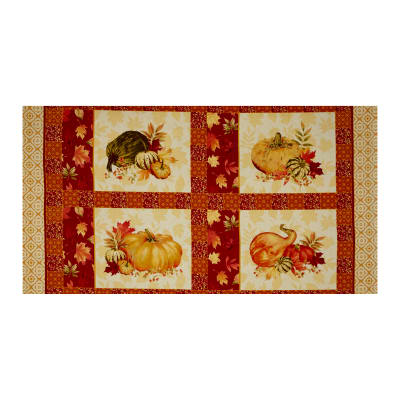 Penny Rose Autumn Hue Panel Red