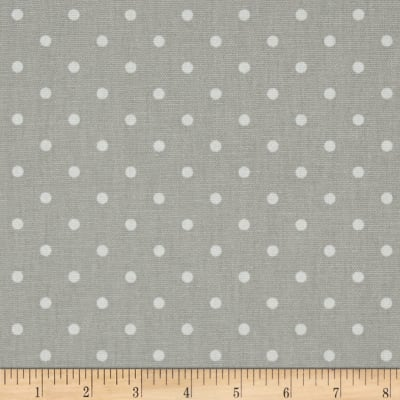 Premier Prints Mini Dot French Grey/White