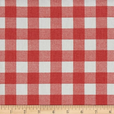 Premier Prints Plaid Coral