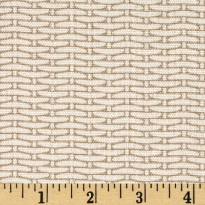 Magnolia Home Fashions Basket Weave Sand