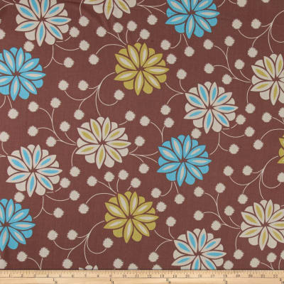 Ansley Home Decor Floral Brown