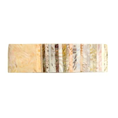 "Wilmington Jewels Sand Bar 2.5"" Strips Batik"