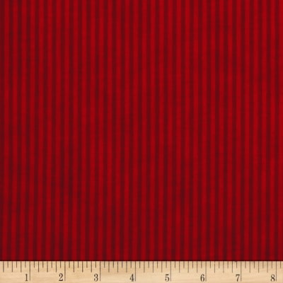 Christmas Wishes Candy Bag Stripe Holiday Red