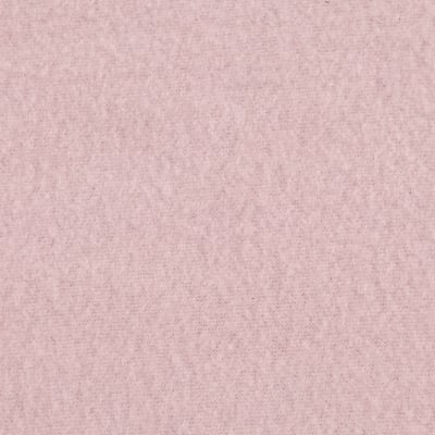 Double Brushed Solid Fleece Cotton Candy Pink