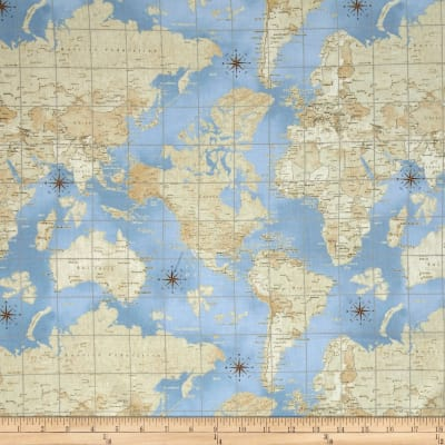 Theory of Aviation World Map Multi