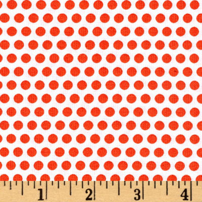 Uppercase Dotty Orange