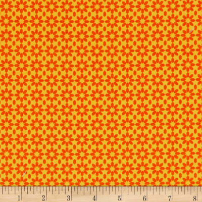 Uppercase Ice Floral Orange