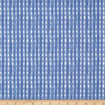 Ella Plaid Light Blue