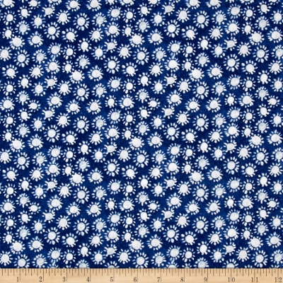 Ella Sunflower Dark Blue
