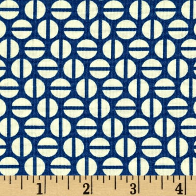 Heather Bailey True Colors Divvy Dot Navy