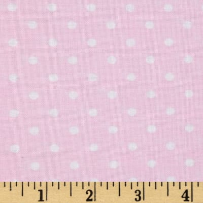 Timeless Treasures Polka Dot Blush