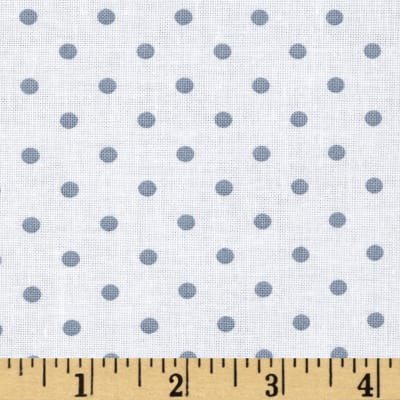 Timeless Treasures Polka Dot Ash