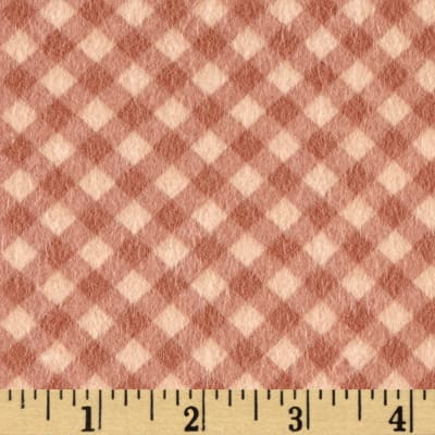 Reproduction Flannel Check Tan