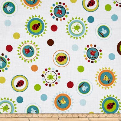 Giggle & Grow Dots White Multi