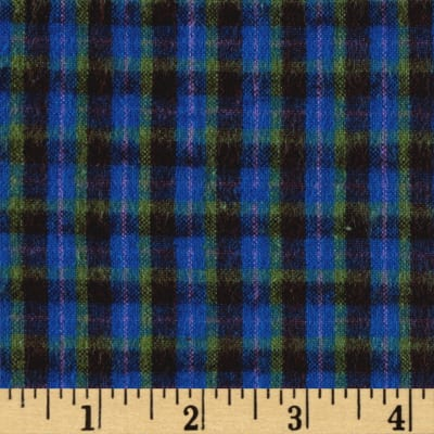 Primo Plaid Flannel Plaid Royal