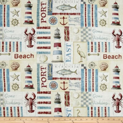 Seaside Sea Side Patch Multi