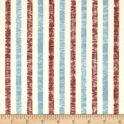 QT Fabrics Seaside Stripe Brick
