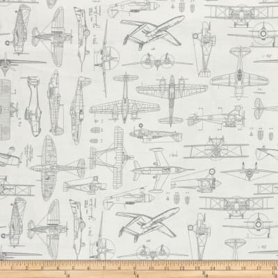 Aviator Plane Blueprints Light Natural