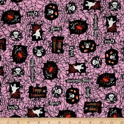 Spooktacular Halloween Icons Pink