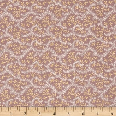 Reproduction Calico Vine Mauve