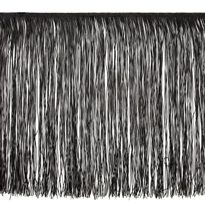 "18"" Chainette Fringe Trim Black"