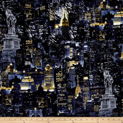 New York State of Mind City Nights Black