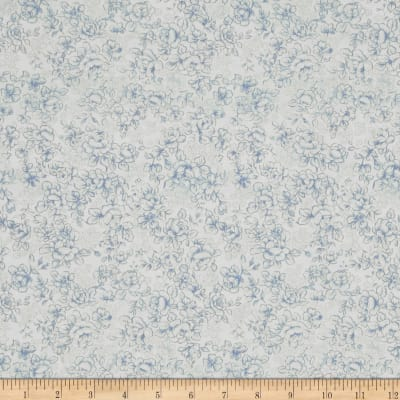 Reproduction Small Rose Blue