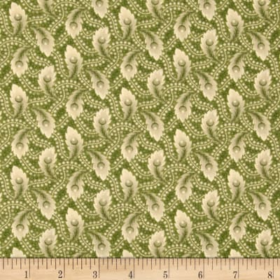 Past Endearments Leaf Bud Green/Beige