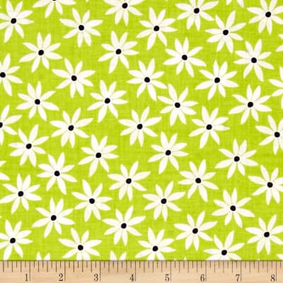 Kanvas Citron Twist Daisy Dot Citron