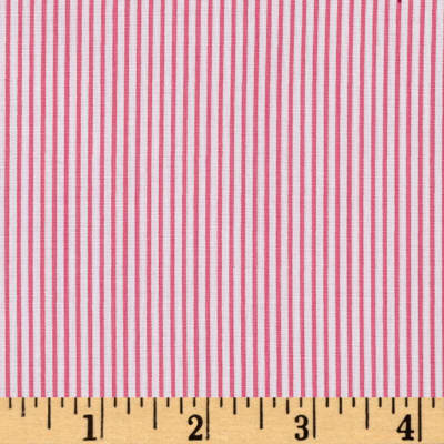 Precious Beginnings Stripes Pink/White