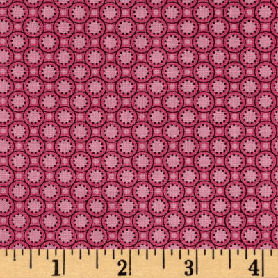 Medallion Muse Small Buttons Pink