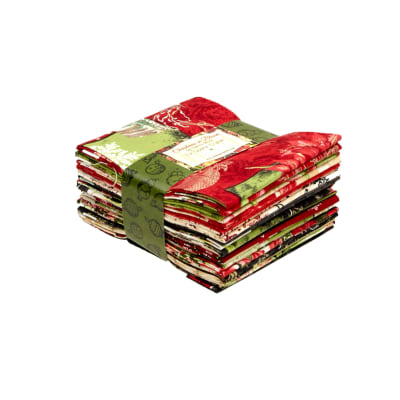 Christmas in Bloom Fat Quarter