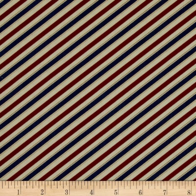 Barber Shop Barper Stripes Red/Blue