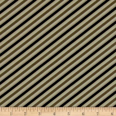 Barber Shop Barper Stripes Taupe/Black