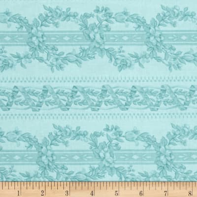 World of Romance Intertwined Vines Teal