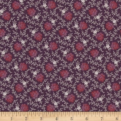 Mill Works Daisies Purple/Red