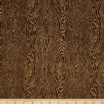 Rustic Refined Wood Grain Teak