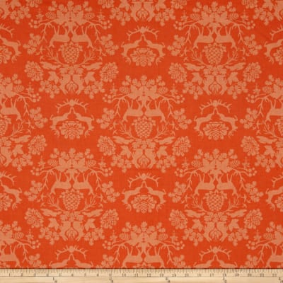 Riley Blake Organica Damask Orange