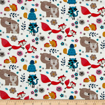 Mamma & Me Woodland Characters White