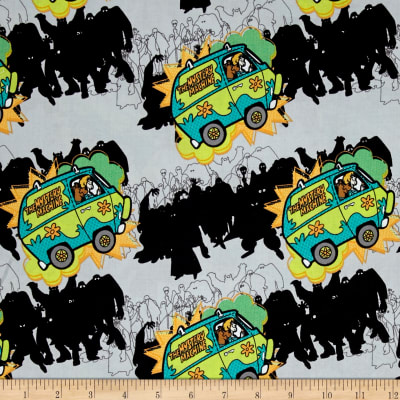 Scooby Doo The Mystery Machine Stone