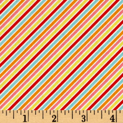 Riley Blake Wistful Winds Stripe Multi