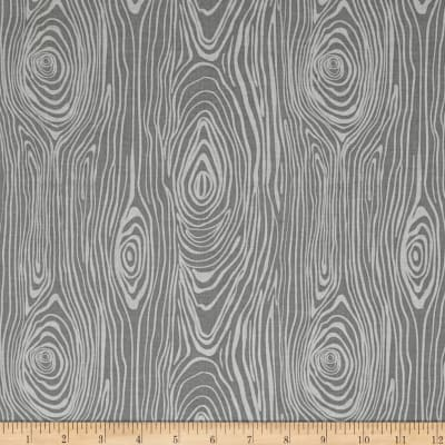 Riley Blake Knock on Wood Wood Light Gray