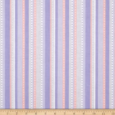 Riley Blake Princess Dream Stripe Purple