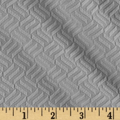 Double Knit Jacquard Grey