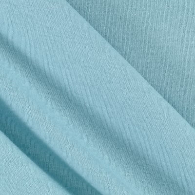 Cotton Spandex Jersey Knit Sky Blue