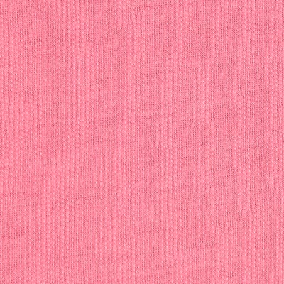 French Terry Knit Solid Neon Pink