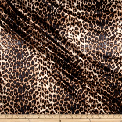 Tricot Cheetah Brown
