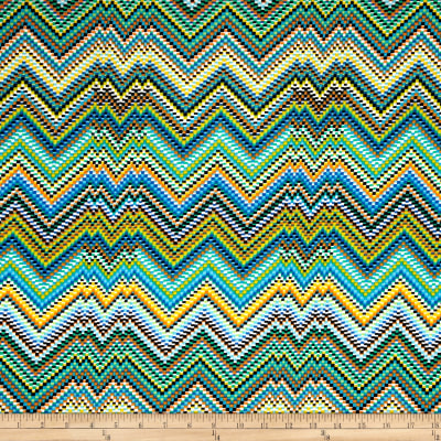 Slinky Knit Chevron Dash Multi