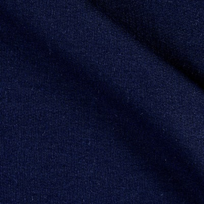 Modal French Terry Knit Pea Navy